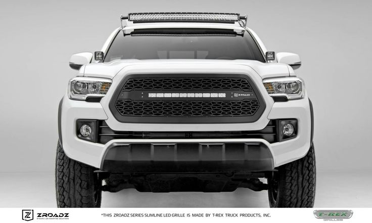 2016 Tacoma TRD off-road with Z-ROADZ LED grille.