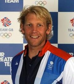Andrew Triggs Hodge, MBE, born Halton, Bucks, 1979. Triple Olympic Gold medalist, twice in coxless fours, once in the eight. Four World's Golds in coxless fours, and once in the eight.