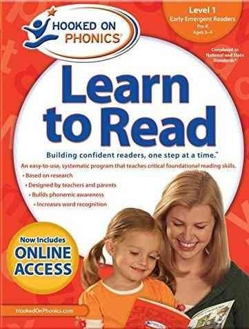 Hooked on Phonics Learn to Read Level 1 Pre-K, Ages 3-4: Early Emergent Readers