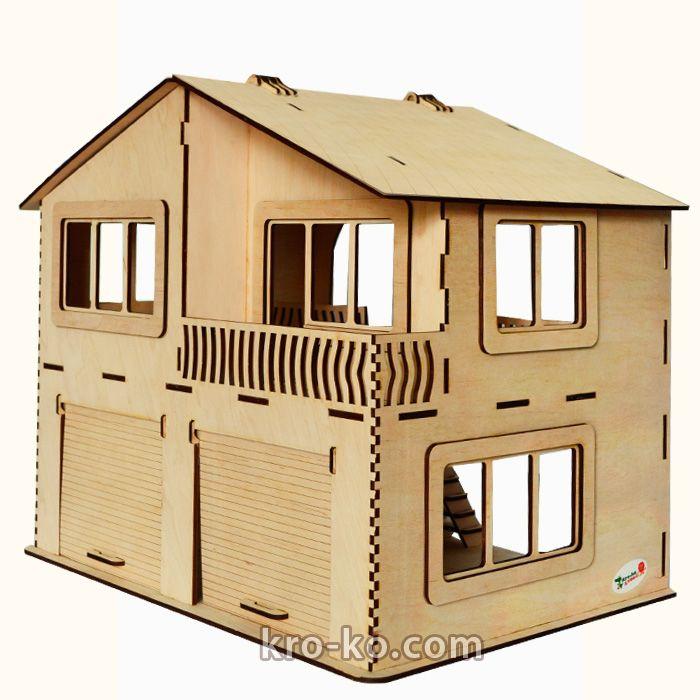 Купить игрушечный Гараж в интернет-магазине Kroko&woodi