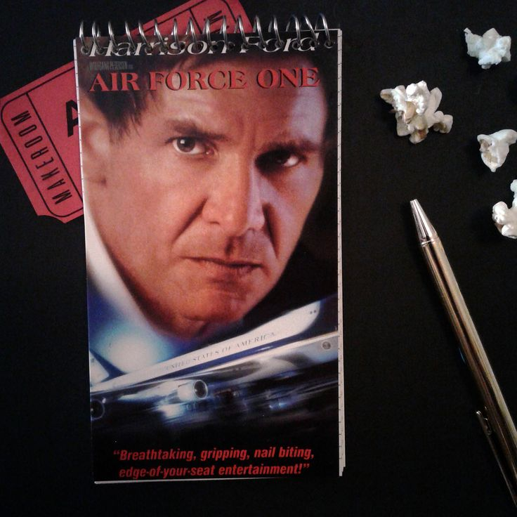 Air Force One | VHS Spiral Bound Notebook