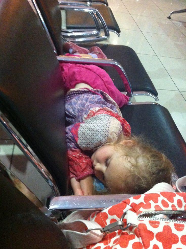 Eventually children will sleep #travelwithkids
