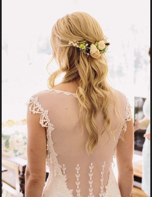 Coiffure mariage pince