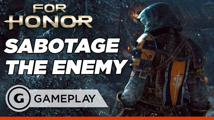 For Honor: Single Player Campaign - Sabotaging the Elevator Gameplay