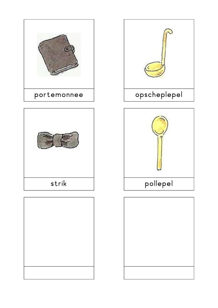 Woordkaarten Bas 'Het pannenkoekenrestaurant' 3