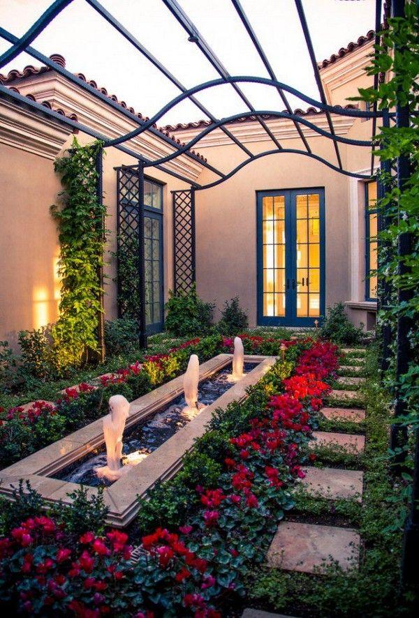 Mediterranean Garden Style