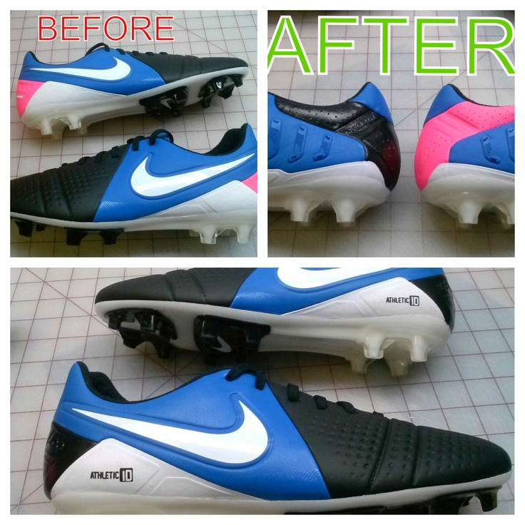 Cheap Design Changes That Have: Custom Nike Shoes. Color Change.