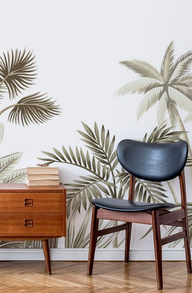 Subtle Jungle Wallpaper Wallsauce Nz Wallpaper Living Room Jungle Wallpaper Perfect Wallpaper