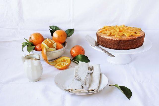 Pratos e Travessas: Bolo de laranja sem glúten # Gluten free orange cake   Food, photography and stories