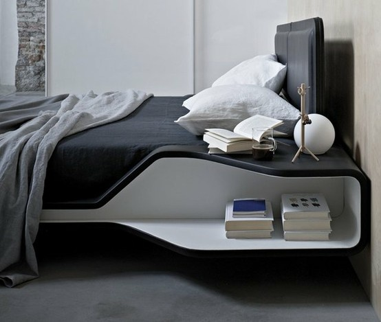 Ayrton Bed by Ora-ïto