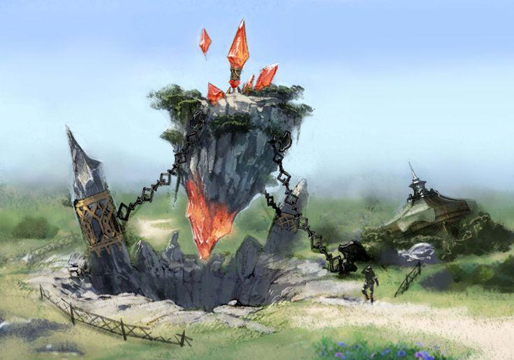 Aetheryte, Final Fantasy XIV.