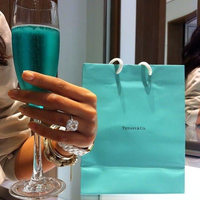 Tiffanys.. #bluechampagne                                                                                                                                                      More