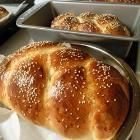 Foto recept: Gevlochten challe (Joods brood) uit de broodbakmachine