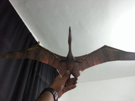 Pteranodon model 1mt wings span availbale do dowload at https://www.patreon.com/Alejandr0