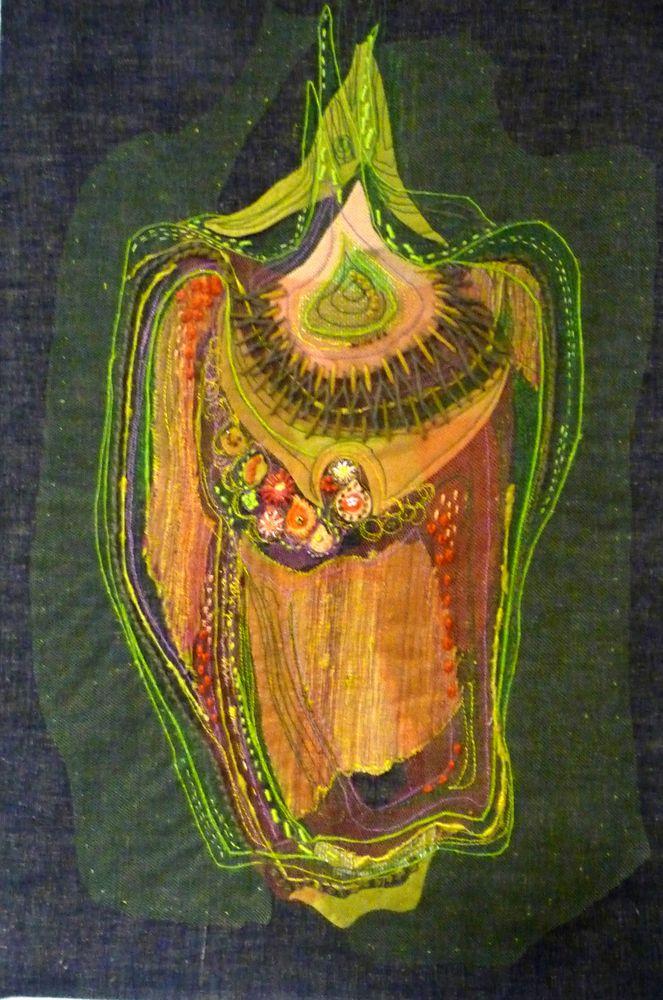 Jan Beaney textile artist | Jan Beaney  Jean Littlejohn • In Action – New DVD – YouTube