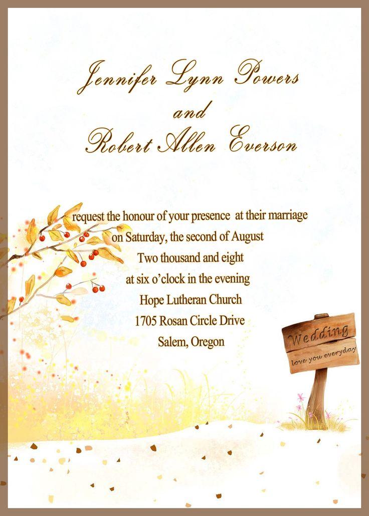 Best 25+ Marriage invitation card ideas on Pinterest Indian - marriage invitation letter format