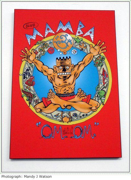 A New Exhibition Explores The Legend Of Blue Mamba #sacomics #comics