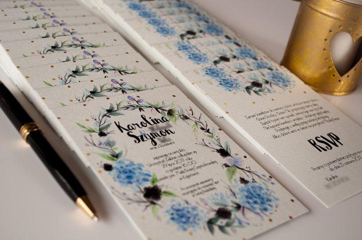 HORTENSJE, akwarelowe kwiaty – Blog Cartolina