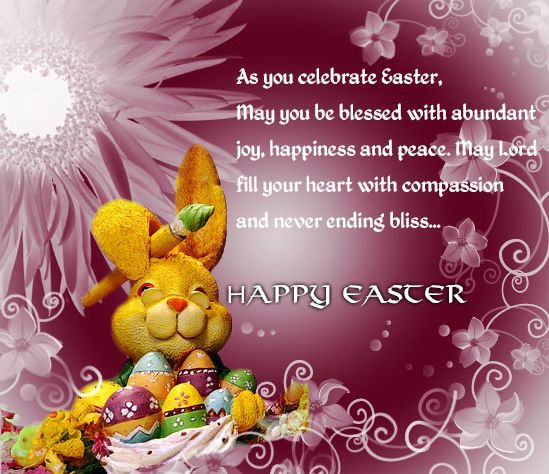 187 best images about Happy Easter – Easter Card Messages