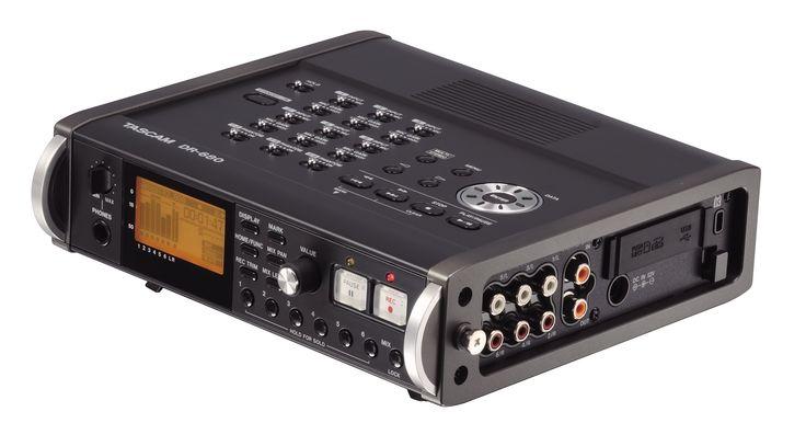 TASCAM Grabadora Multipista Portatil DR680