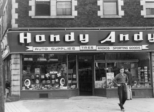 1949 Handy Andy Auto Supplies Sherbrooke Street West NDG Montreal | eBay