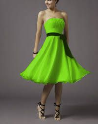 lime green bridesmaid dresses - Google Search