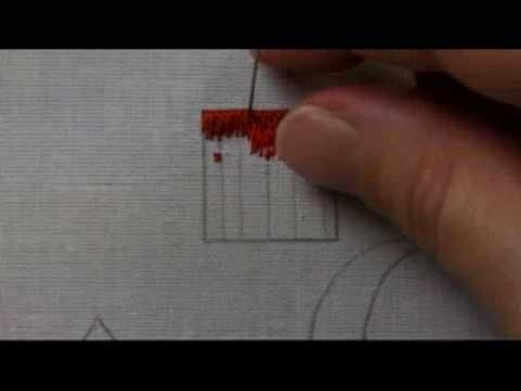 Part 2 of Basic Long and Short Stitch for Shading / Needlepainting Techniques in Hand Embroidery. Part of a Multi-Lesson Series (Free) on Needle 'n Thread: w...
