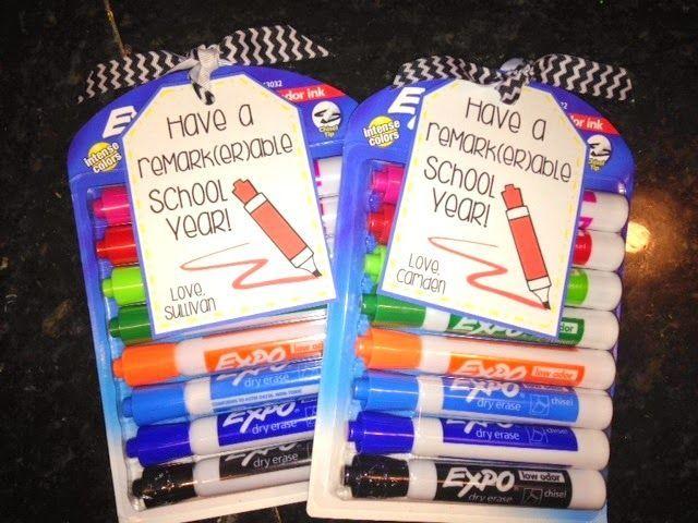 First day of school teacher gift!!