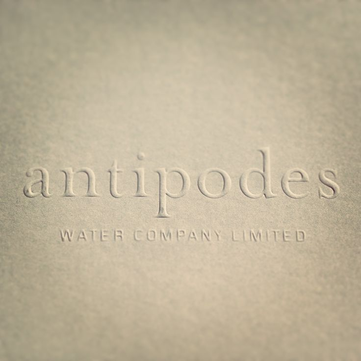 you're not the emboss of me.  @antipodes_water
