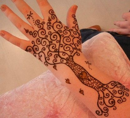 View 50 of the coolest #henna #tattoos out there and get inspired!