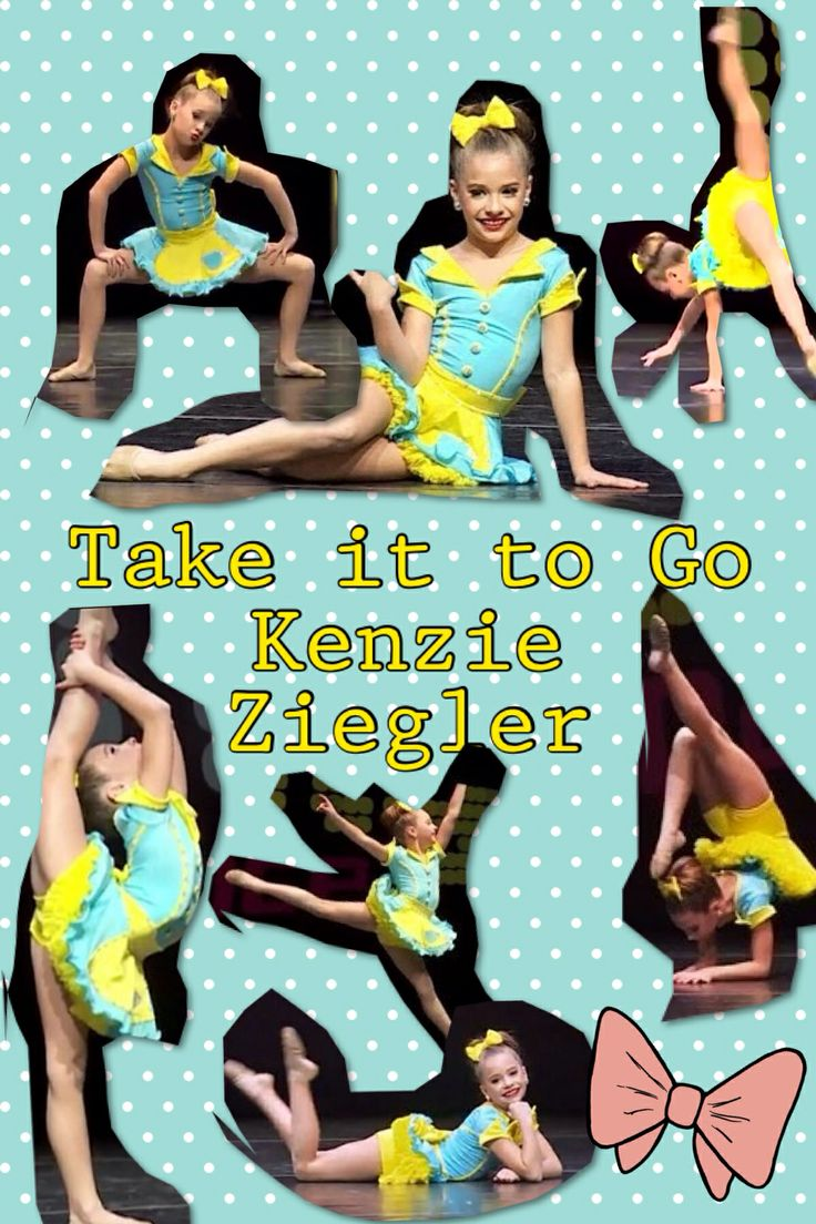 My edit of Mackenzie Ziegler's Solo, Take it to Go. Made with Pic Collage