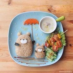 Fairy Tales on Plates - kawaii food art