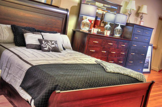 Beautiful handcrafted Amish furniture like this is available at Amish Originals in Westerville, Ohio. #housetrends https://www.housetrends.com/specialist/Amish-Originals-Furniture-Company
