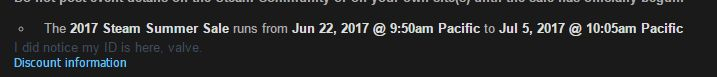 Steam Summer Sale 2017 Date Leaked!