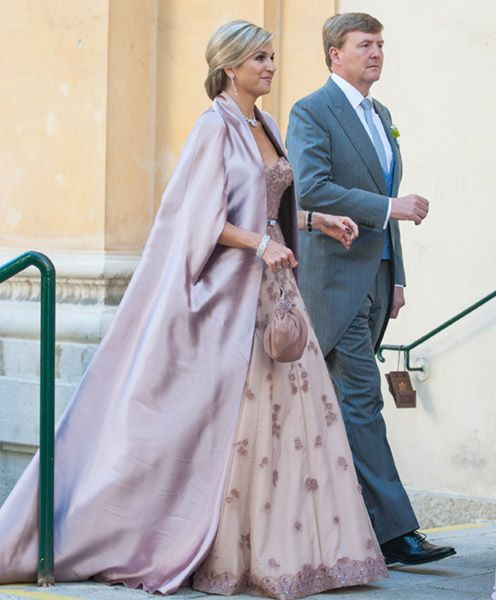 Máxima and Willem Alexander attended wedding of  Juan Zorreguieta and  Andrea Wolf  in  Viena