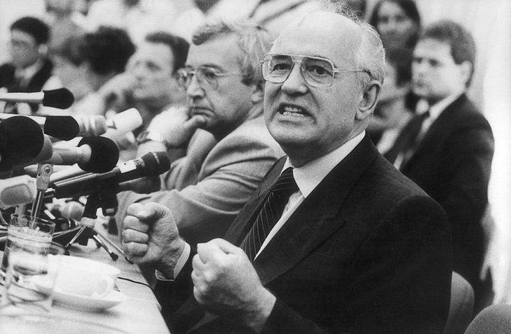 Memba him?... Mikhail Gorbachev. 1988