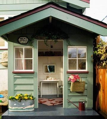 lots of cute playhouse ideas laurenhl