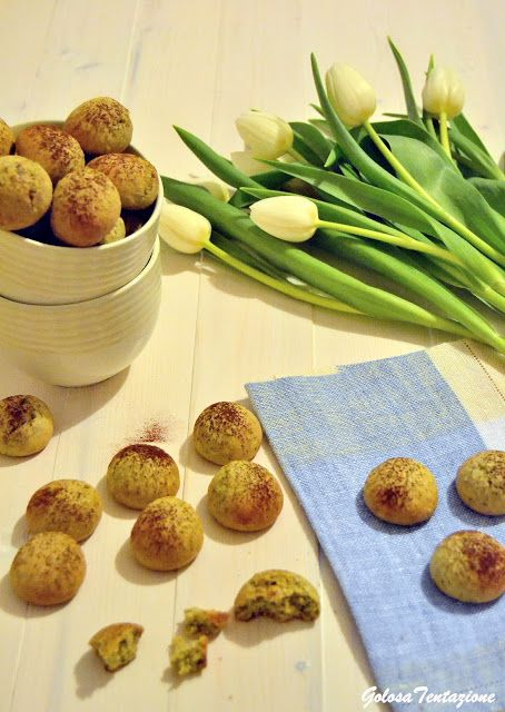 GOLOSA TENTAZIONE...: Bottoncini al pistacchio | biscotti | Pinterest