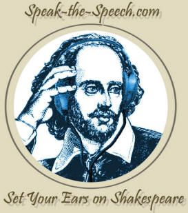 Speak The Speech: Universal Shakespeare Broadcasting. This is an awesome website with great recordings of many of Shakespeare's plays.