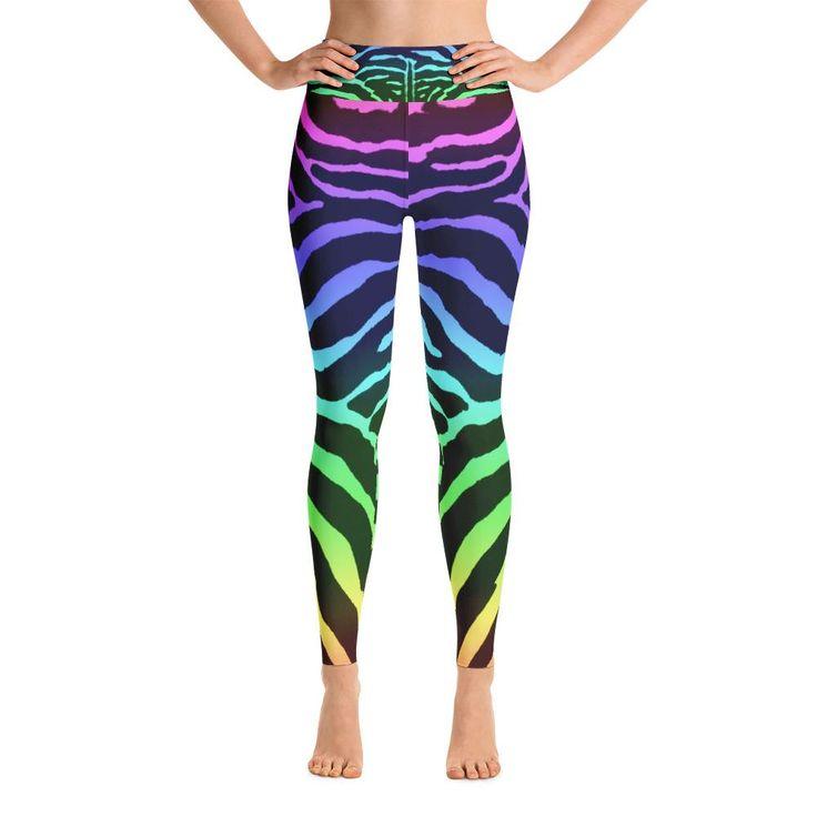 Yoga Zebra-Bash Leggings