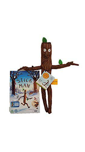 The Gruffalo Stick Man Plush Toy With Stickman DVD Asin: B01HIAEZ00 Ean: 0713651408070