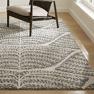 Eden Hand Tufted Wool Rug Crate And Barrel Hand Tufted