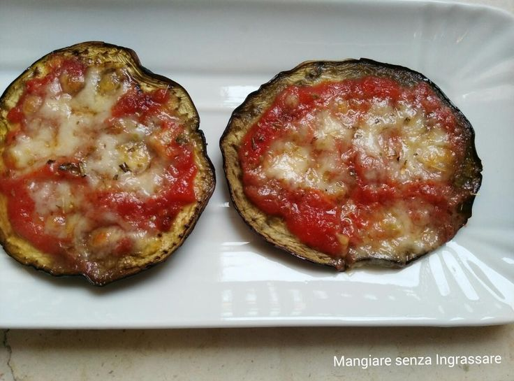 Pizzette+di+melanzane+light
