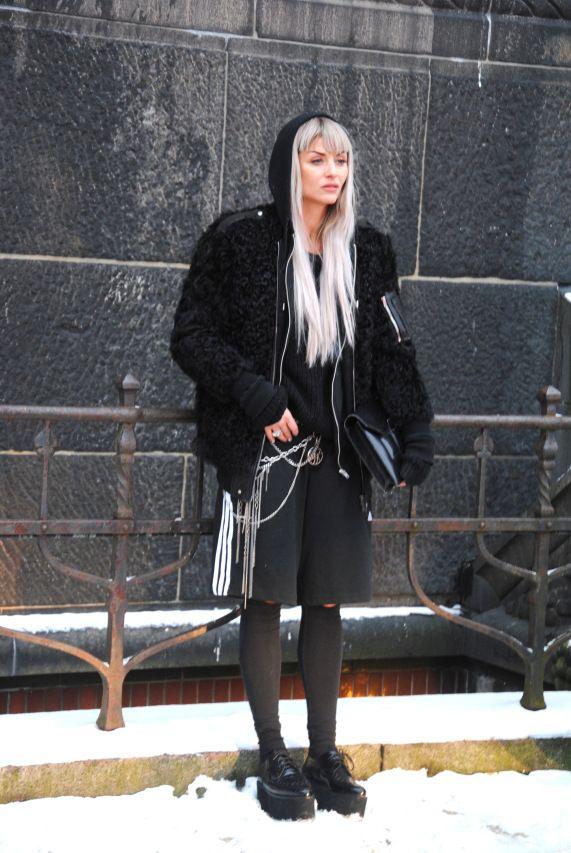 Copenhagen fashion week street style AW14