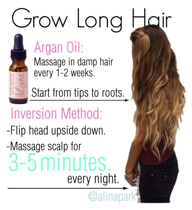 """How To Get Long Hair Fast"" by alinapark on Polyvore"
