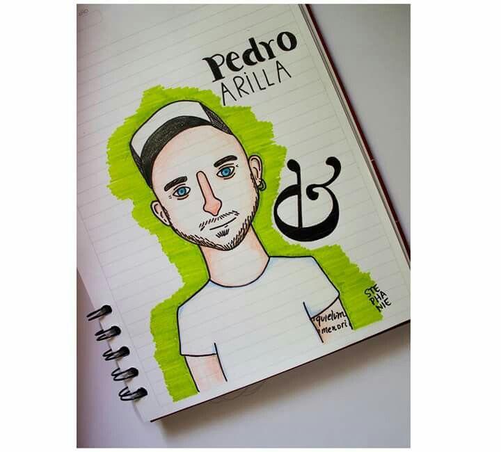 E #barba #tattoo #pedroarilla #valentina #typo #sketch #steillustration #ilustrar