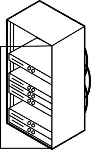 rack-mounted-blade-servers-outline-clip-art_423673.jpg (380×626)