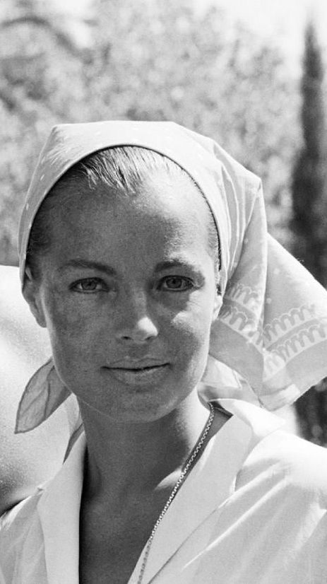 Romy Schneider. Just saw La Piscine and feeling pretty obsessed with her.