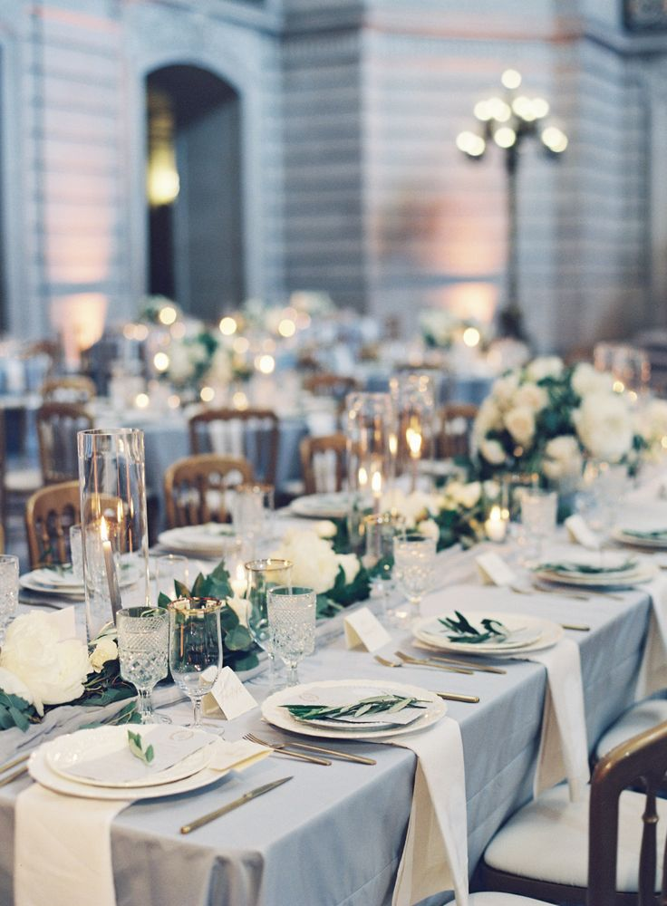 this wedding is the definition of timeless white