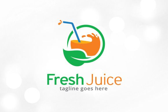 Fresh Juice Logo Template by @Graphicsauthor